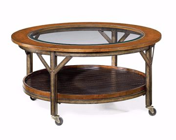 Picture of Mercantile Round Cocktail Table