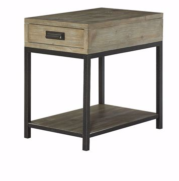 Picture of Parsons Charging Chairside Table