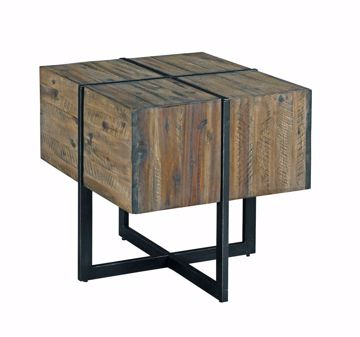 Picture of Modern Timber Accent End Table