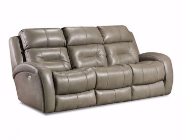 Picture of Showcase Double Reclining Sofa with Drop-down Tabl