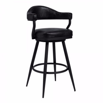 Picture of Justin Counter Stool Black