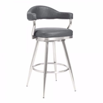 Picture of Justin Bar Stool Gray