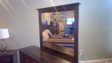 Bench Built Mirror By Colorado Casual
