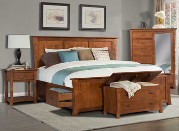 Picture of Grant Park King Storage Bed