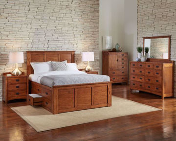 Mission Hill Bed By Colorado Casual