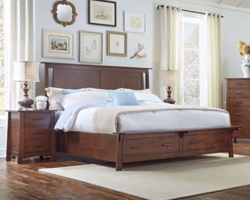 Picture of Sodo King Storage Bed