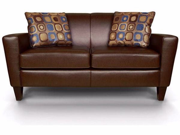 Leather Loveseat by Colorado Casual