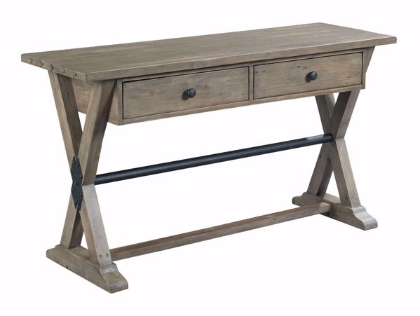Picture of Reclamation Place Trestle Sofa Table