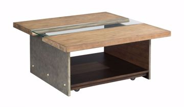 Picture of Live Edge Square Cocktail Table