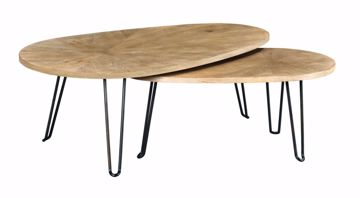 Picture of Oblique Bunching Cocktail Table