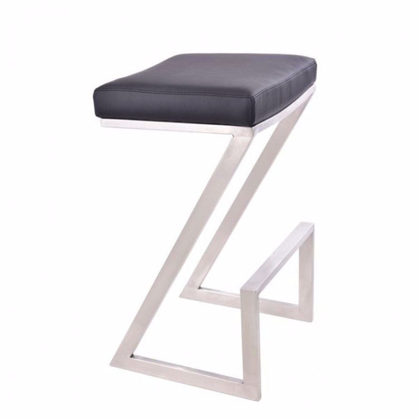 Picture of Atlantis Counter Stool Black