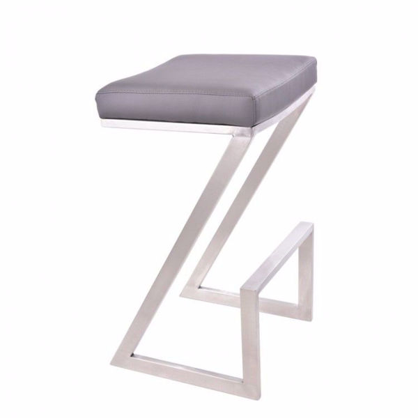 Picture of Atlantis Counter Stool Gray