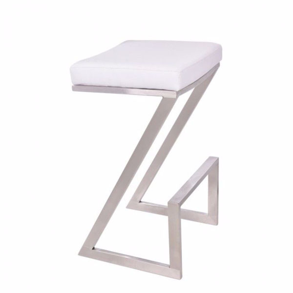 Picture of Atlantis Counter Stool White