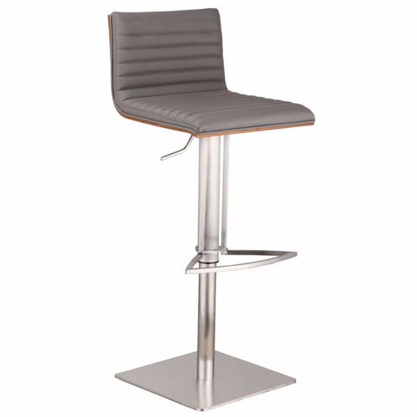 Picture of Cafe Adjustable Stool Gray