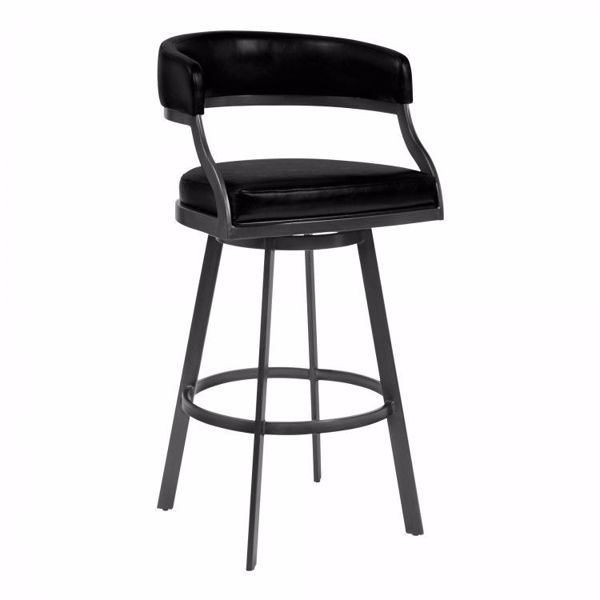 Picture of Saturn Counter Stool Black