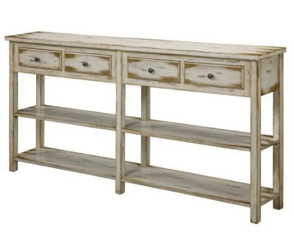Picture of Ada Antique White Console Table
