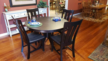 "Picture of Cosmopolitan 48"" Table and 4 Chairs"